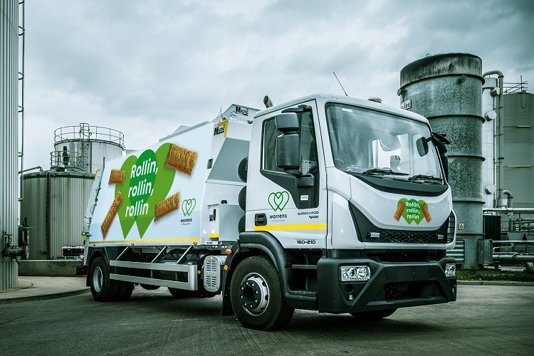 EfW company unveils fleet powered solely by sausage rolls