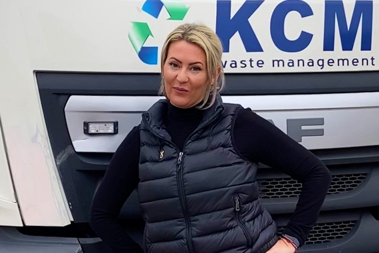 April's Skip Chick: Emma Hickling from KCM Waste