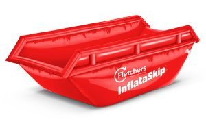 The world's first inflatable skip