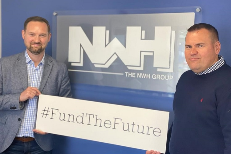 NWH cements sustainability commitment with £10k donation to Entrepreneurial Scotland