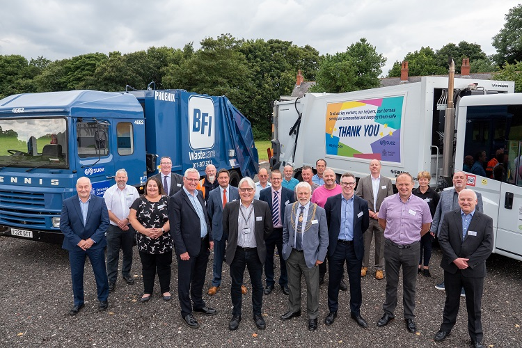 Full circle for Circular Economy Chief as SUEZ and Doncaster Council celebrate 30 years of partnership
