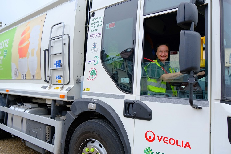 Veolia urges mums to consider a career in driving as national shortage threatens collections