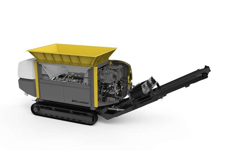 UNTHA unveils new ZR two shaft shredder